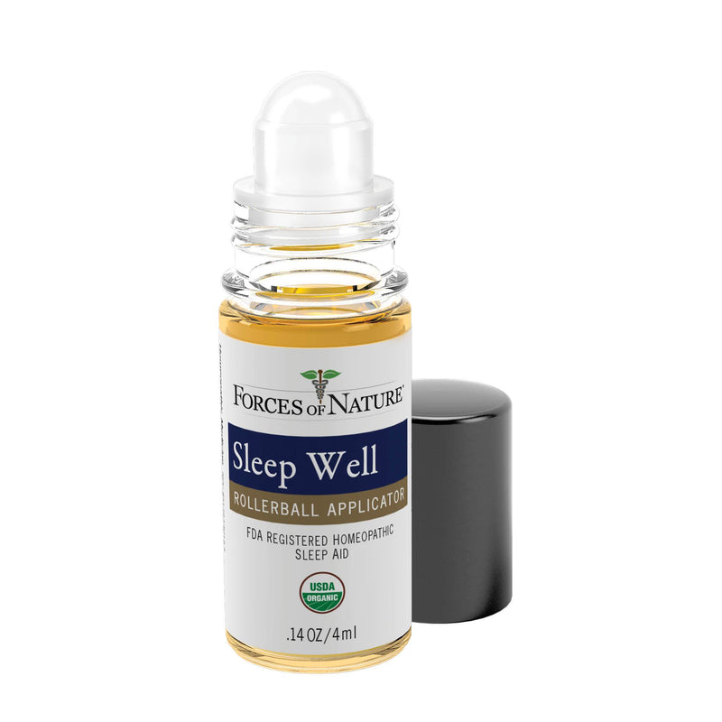 Natural Sleep Aid 4ml Rollerball | Forces of Nature Organic Medicine