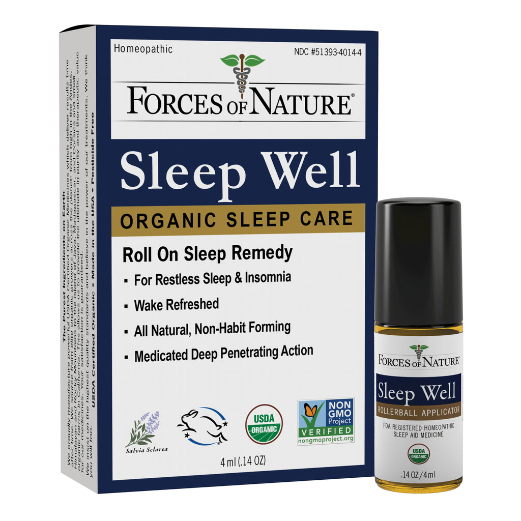 Sleep Well Organic Sleep Care | 4ml Rollerball