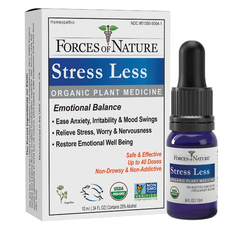 Natural Stress Less Bottle & Box | Forces of Nature