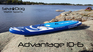 2021 Advantage 10-6 Inflatable Stand Up Paddle Board Package