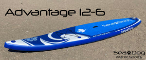 2021 Advantage 12-6 Inflatable Stand Up Paddle Board Package