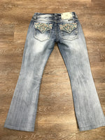 Miss Me Signature Boot Jeans Size 25