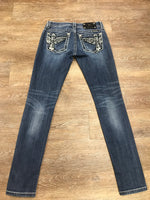 Miss Me Signature-Rise Skinny Jeans JP5848S2 Size 26