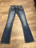 Miss Me Mid-Rise Bootcut Jeans MP8655B Size 26