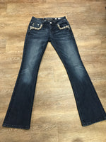 Miss Me Mid-Rise Bootcut Jeans MP7249B2V Size 26