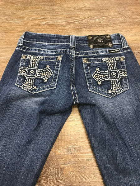 Miss Me Bootcut Jeans JP5009-4 Size 27