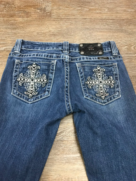 Miss Me Bootcut Jeans JP5074 Size 27