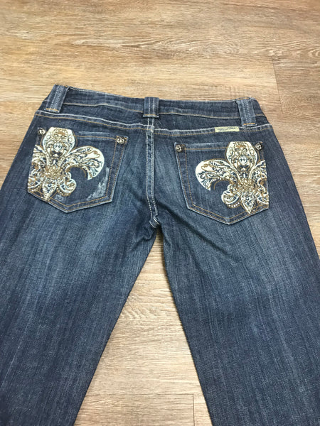Miss Me Bootcut Jeans JP4738A Size 28