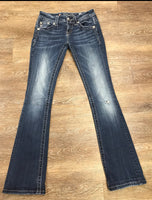 Miss Me Signature Boot Jeans Size 24