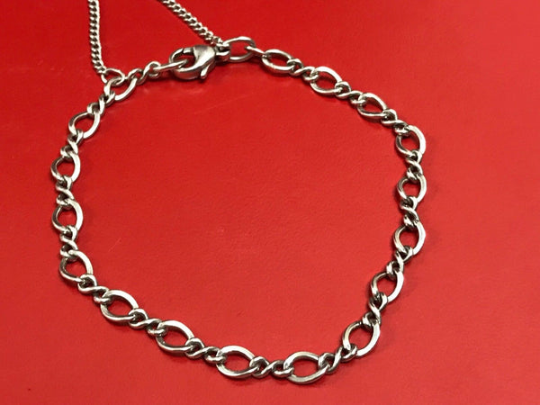 James Avery Sterling Silver Medium Twist Charm Bracelet Size Small 6-5/8""
