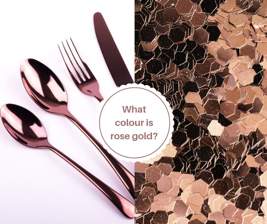 What colour is rose gold?