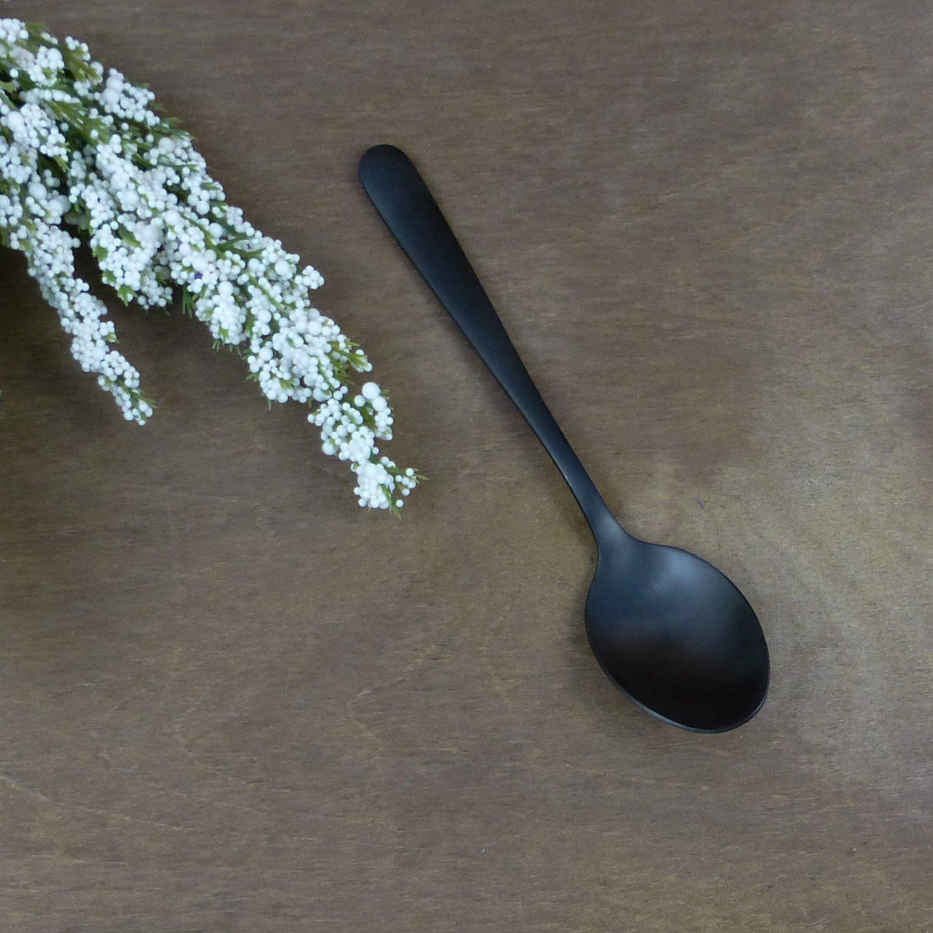 "Black Teaspoons ""Heydon"" 