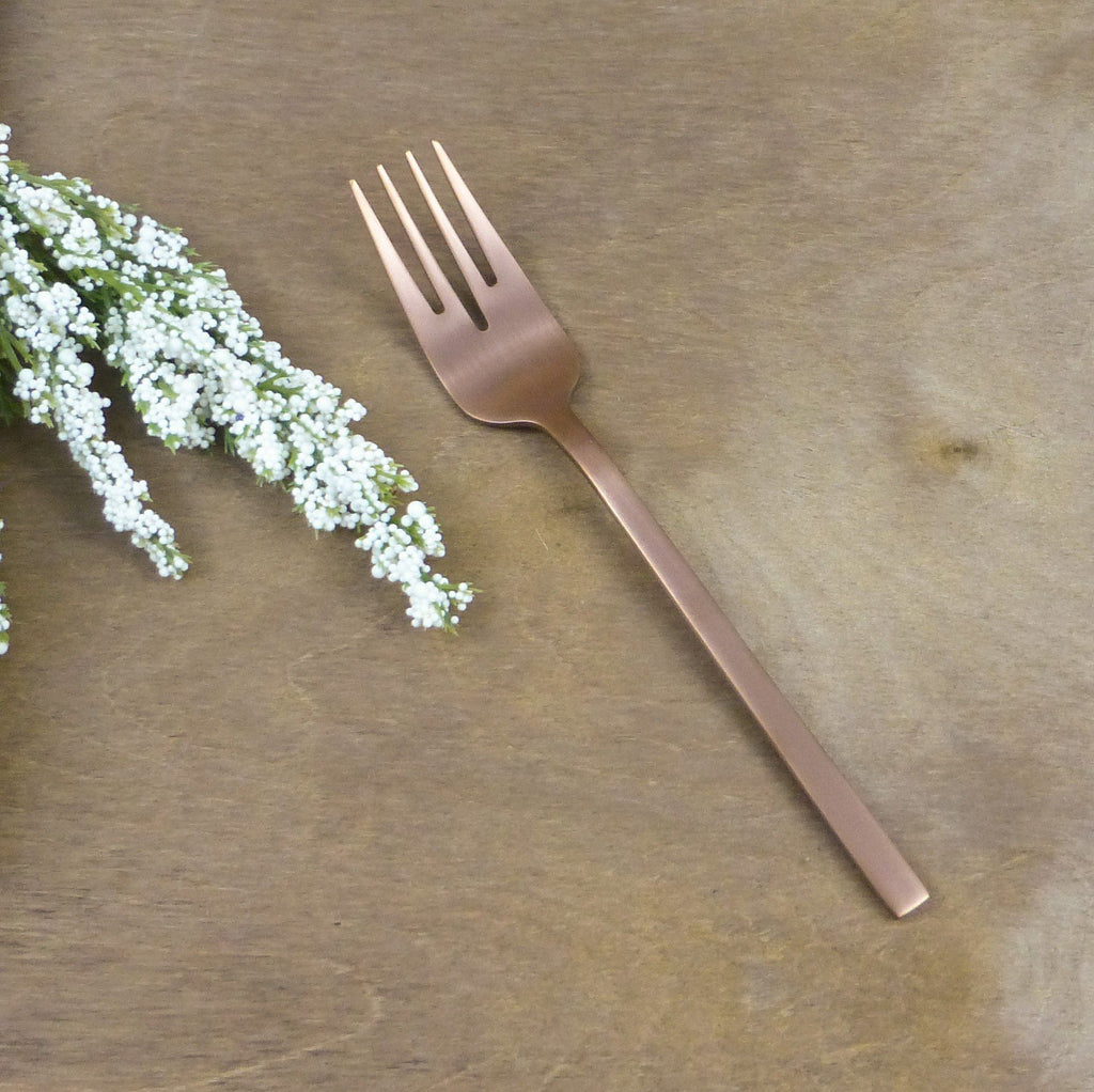 "Copper Cutlery Starter Fork ""Whitman"" 