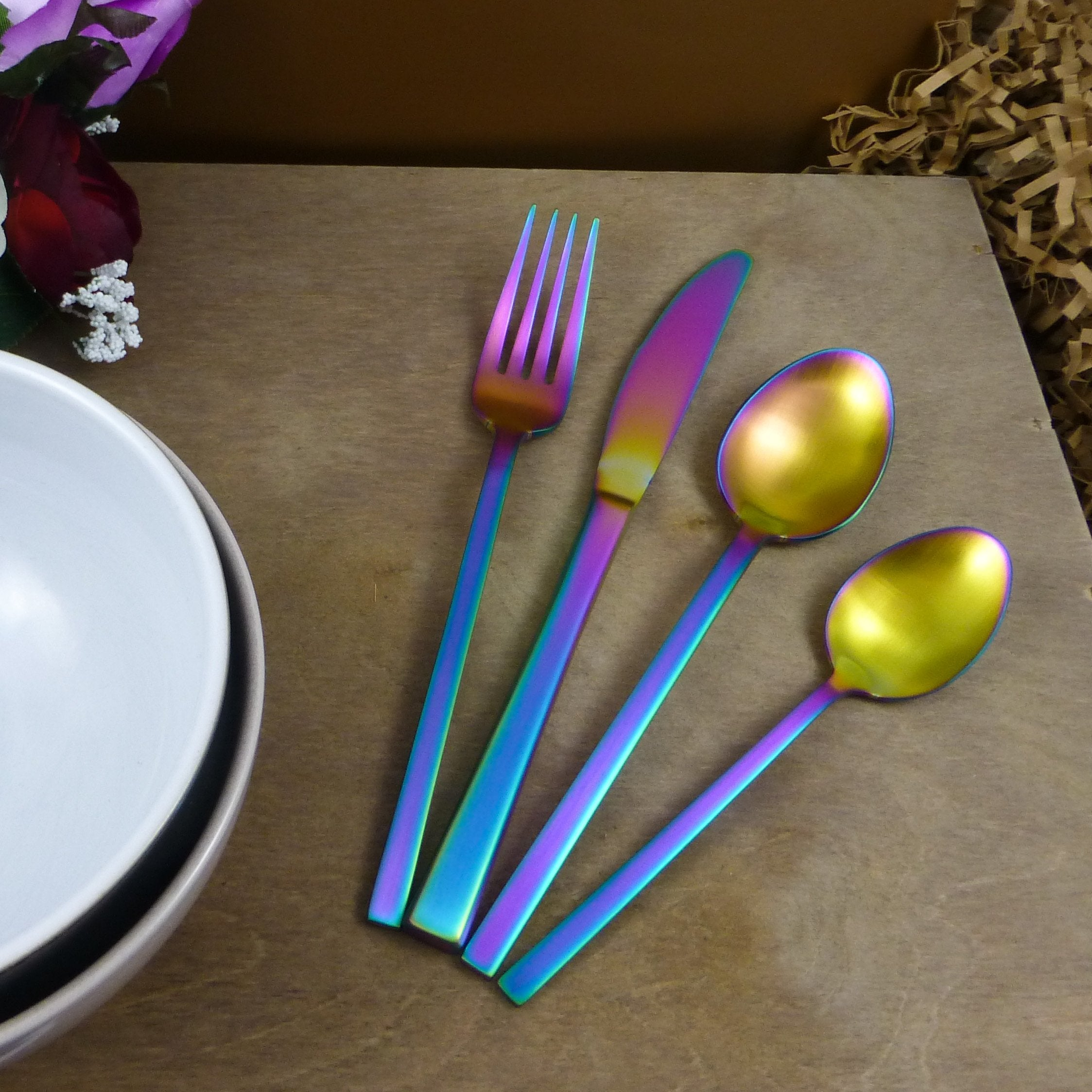 Iridescent Cutlery Hire