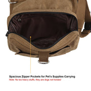 Travel Dog Saddle Bag
