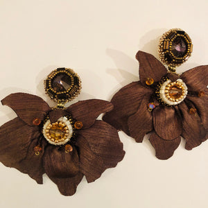 Bambu Fleur Earrings