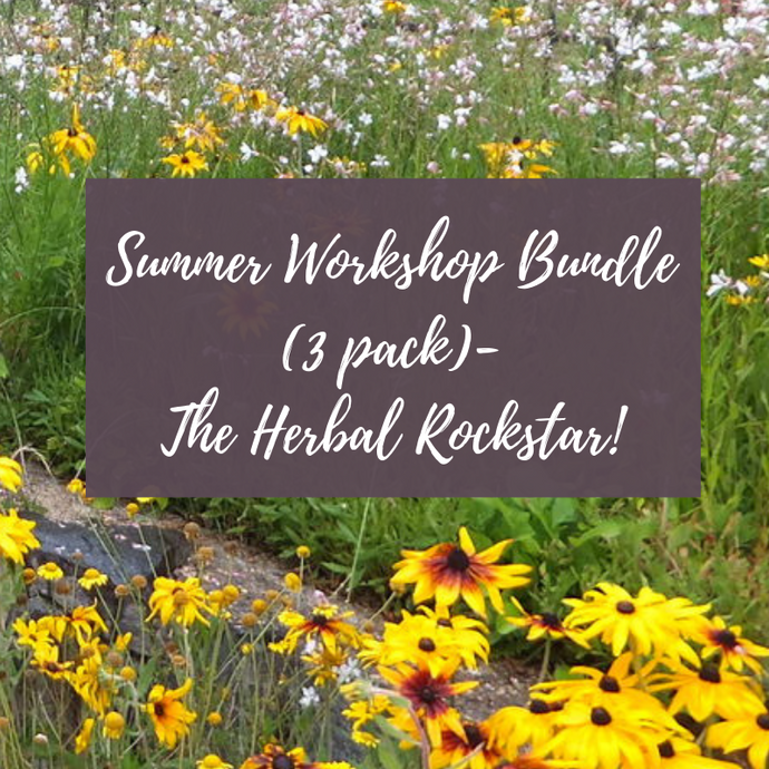 3 Workshop Bundle- The Herbal Rockstar ⭐