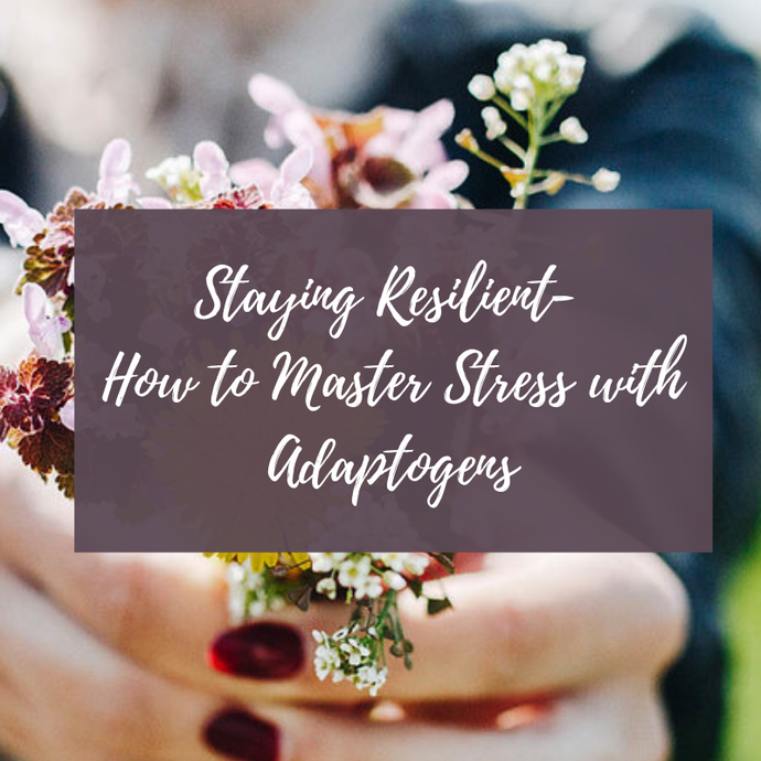 Staying Resilient- How to Master Stress with Adaptogens (July 25, 2019)