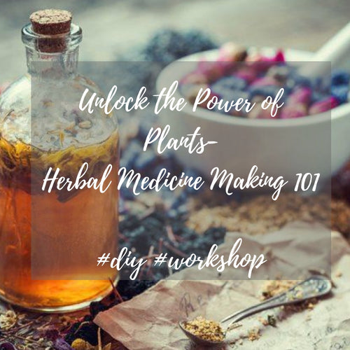 Unlock The Power of Plants- Medicine Making 101