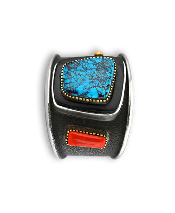 Edison Cummings Santa Fe Native American Cuff.