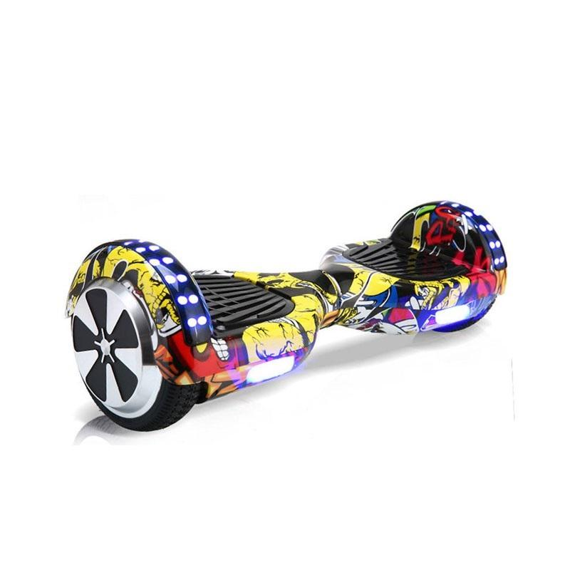 Hip Hop Yellow LED Hoverboard