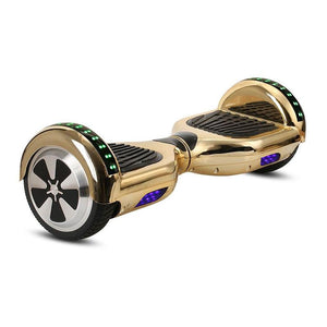 Chrome Gold LED Hoverboard