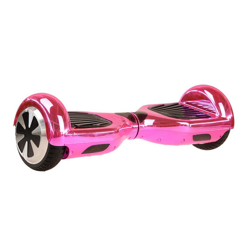 Chrome Pink Hoverboard