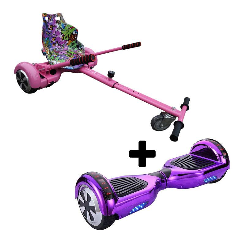 Graffiti Pink X LED Chrome Purple Bundle