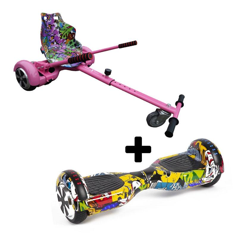 Graffiti Pink X LED Graffiti Yellow Bundle