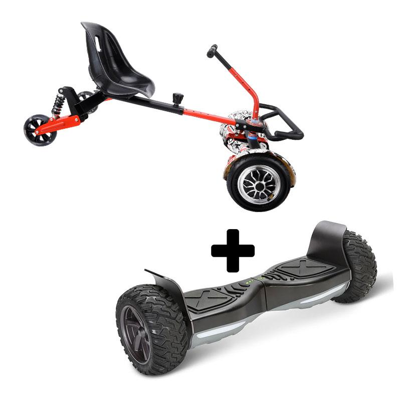 Drifter X + Off Road Black Bundle