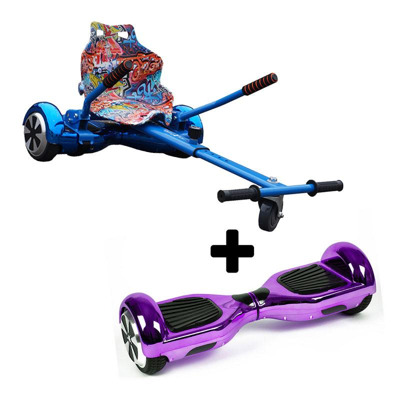 Graffiti Blue X Chrome Purple Bundle