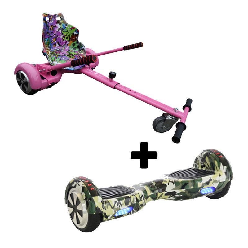 Graffiti Pink X LED Camo Green Bundle