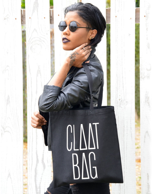 Black & White 'Claat Bag'