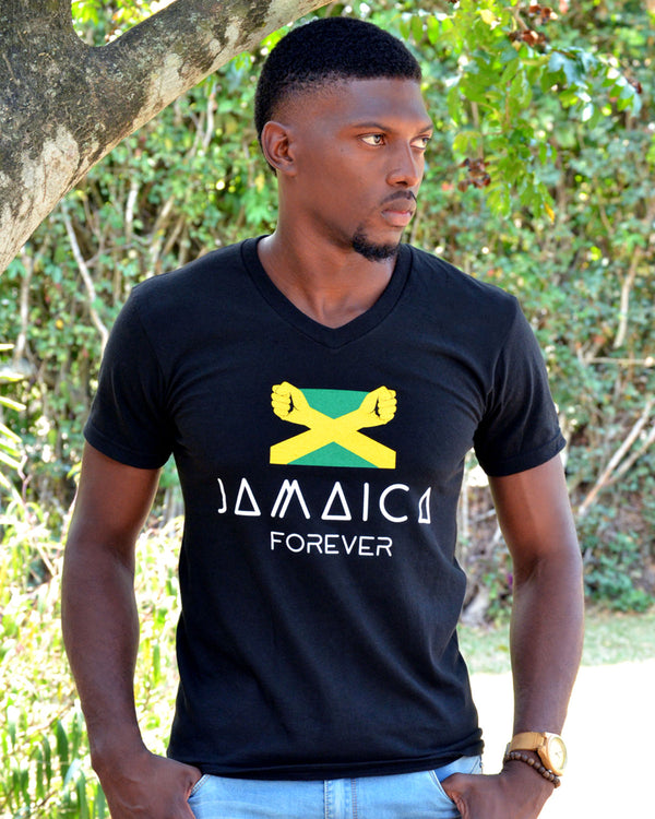 Jamaica Forever (Flag) - Male Shirt