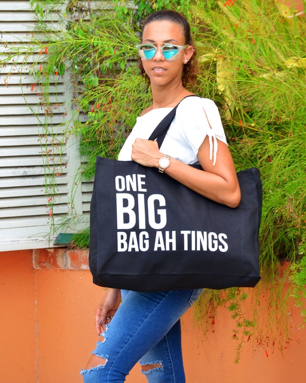 One Big Bag Ah Tings - Black & White