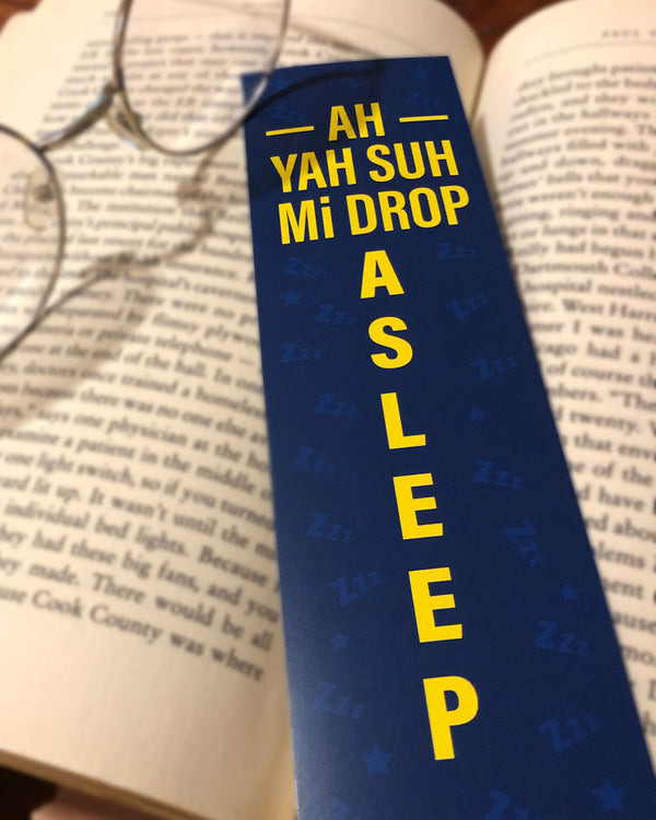 'Drop Asleep' Bookmark
