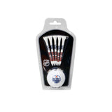 NHL Licensed Golf Tee/Golf Ball Set