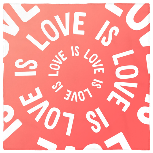 Love is Love is Love Bandanas - bandana - shoppassionfruit