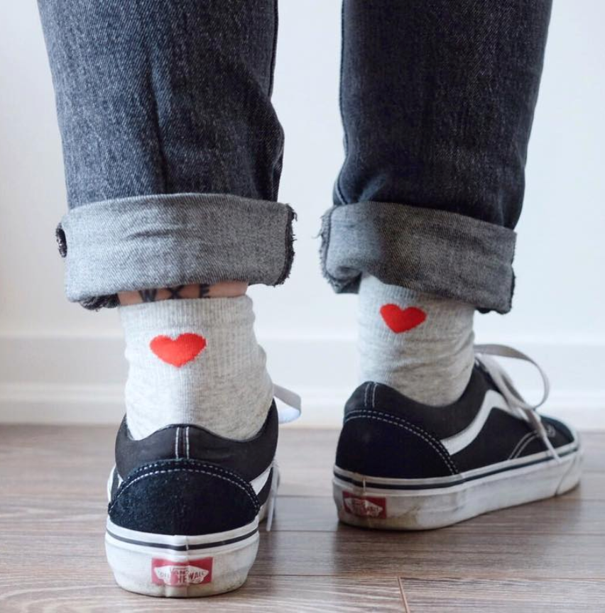 Love Is Love Socks - Grey - socks - shoppassionfruit