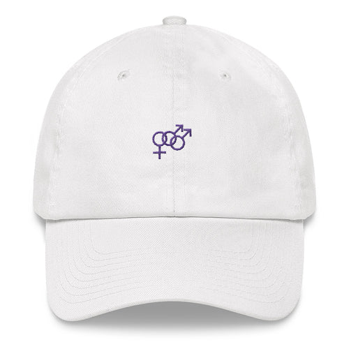 Bisexual Boys Hat – White - hat - shoppassionfruit