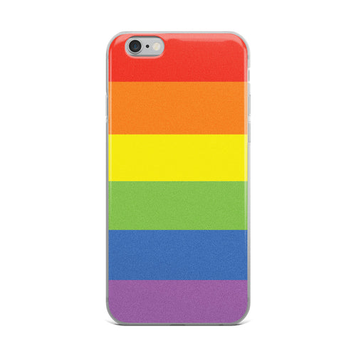 Rainbow Flag iPhone Case - iphone case - shoppassionfruit
