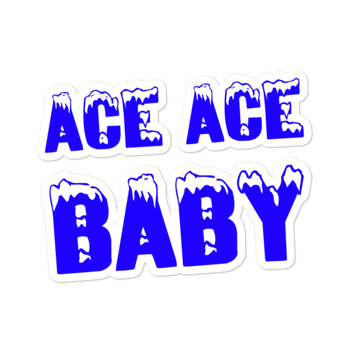 Ace Ace Baby Die Cut Sticker
