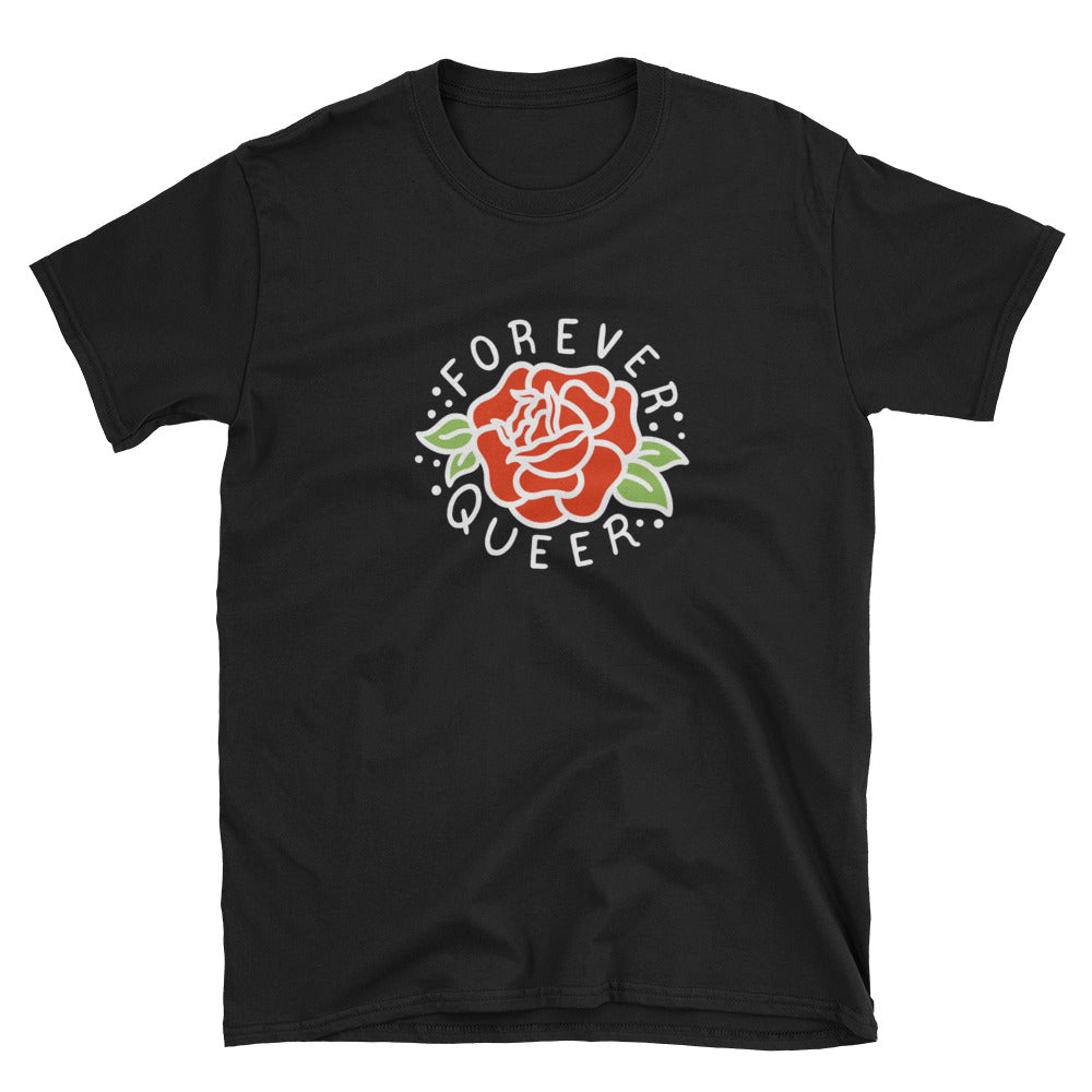Forever Queer Reversed Shirt – Black - shirt - shoppassionfruit