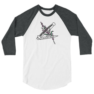 Lavender Menace Baseball Shirt - shirt - shoppassionfruit