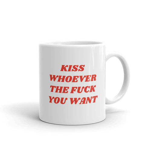 Kiss Whoever Mug - mug - shoppassionfruit