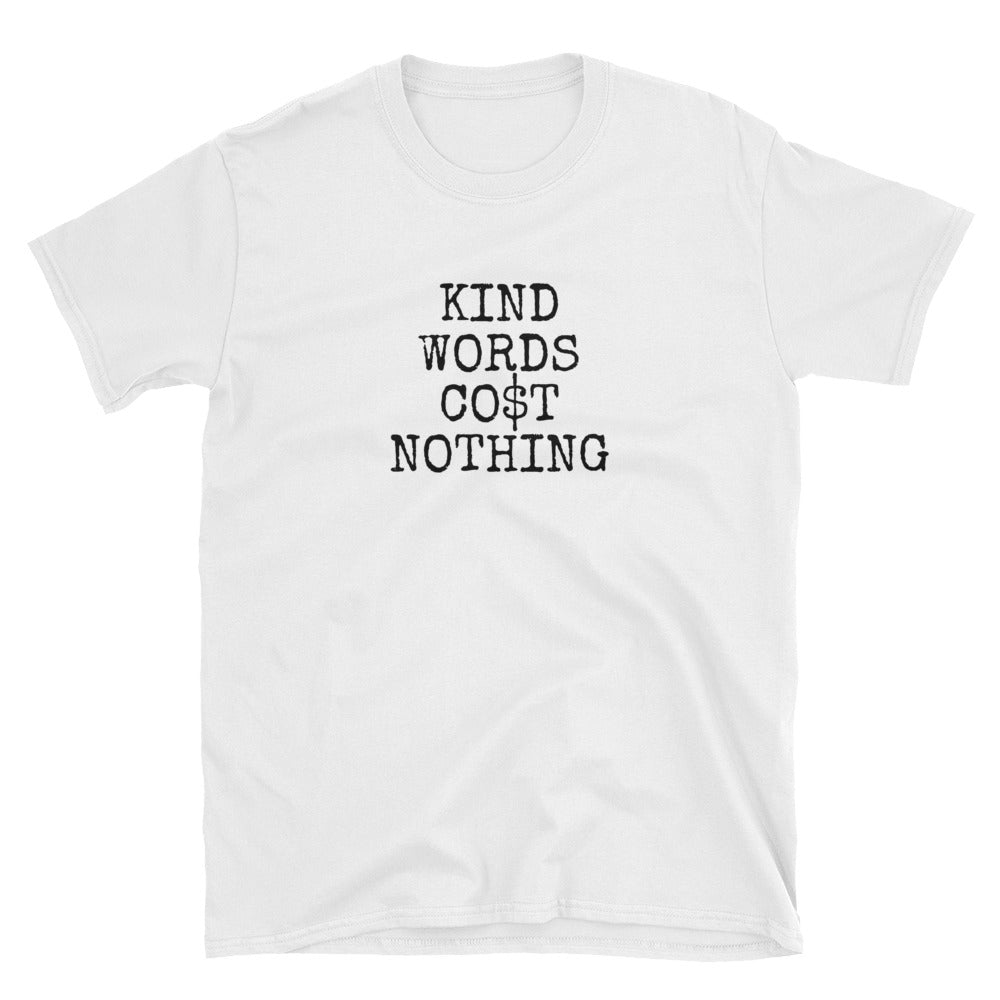 Kind Words Shirt - White - shirt - shoppassionfruit