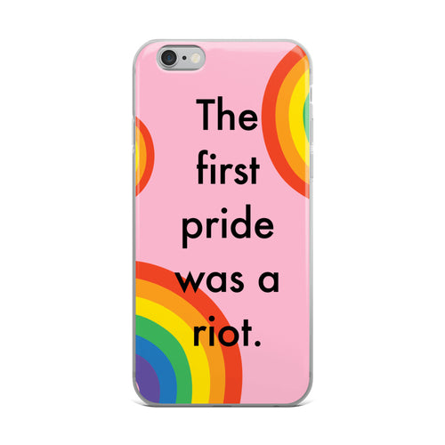 First Pride iPhone Case