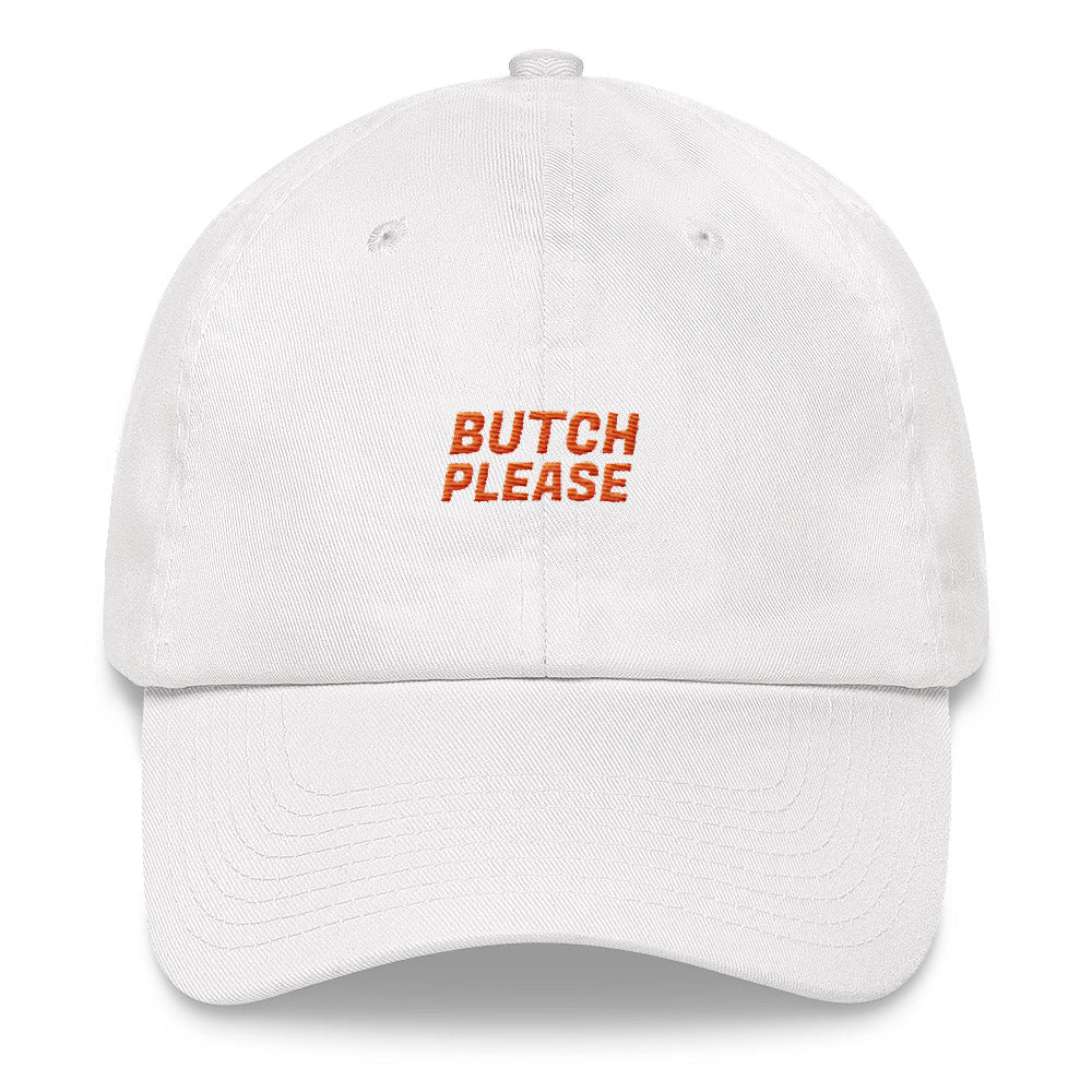 Butch Please Hat - White - hat - shoppassionfruit
