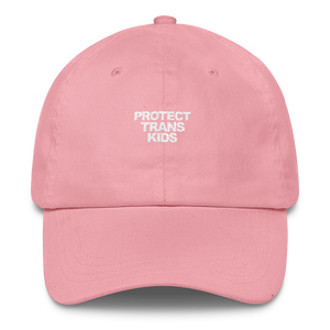 Protect Trans Kids Hat - Pink - hat - shoppassionfruit