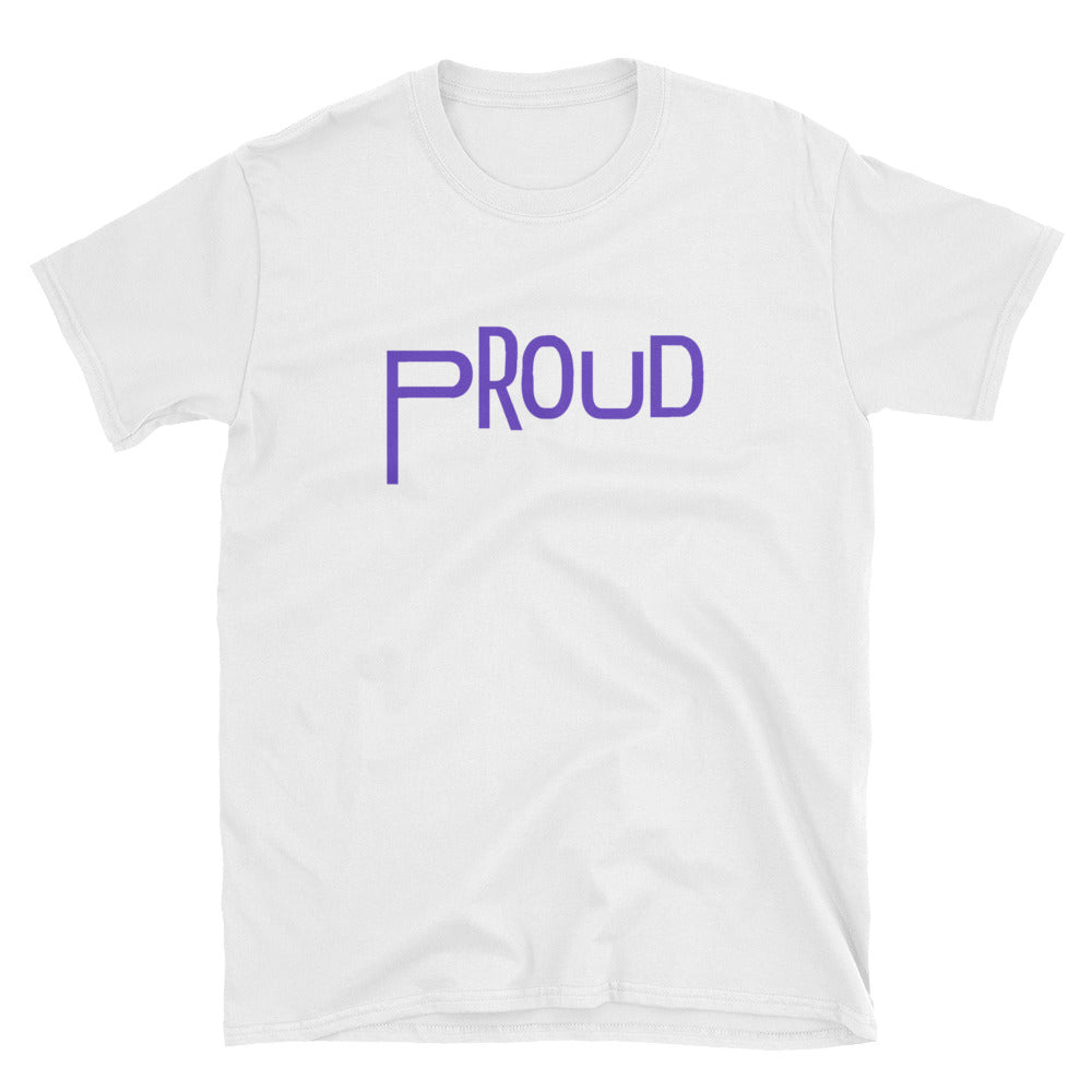 PROUD Queer Shirt - White -  - shoppassionfruit